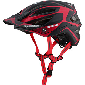 Troy Lee Designs A2 MIPS Bike Helmet red/black